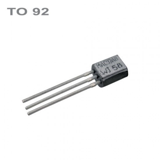 BC640 PNP 80V,1A,0.8W,100MHz TO92
