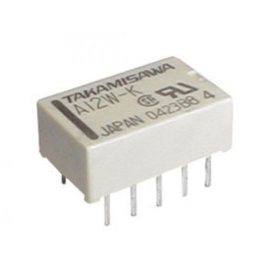 Relé 5V 0.5A/125VAC 2x přep. A5W-K