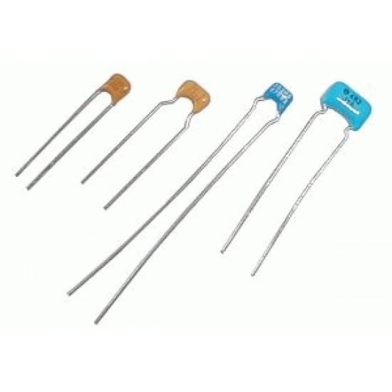 Kondenzátor keramický 220N/50V mono Y5V rm5 C