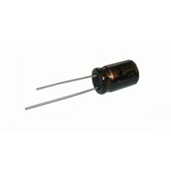 Kondenzátor elektrolytický 100M/35V 6x11-2.5 rad.C *