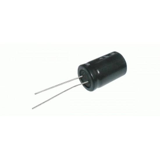 Kondenzátor elektrolytický 22M/160V 16x36-7.5 105*C rad. C