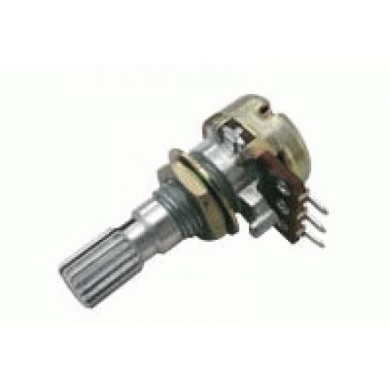 Potenciometer 1K N mono 6 20mm