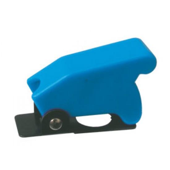 Prepínač páčkový ochran.kryt - modrý