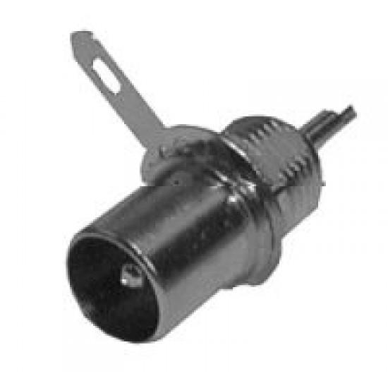 Konektor anténny panel s maticou kov