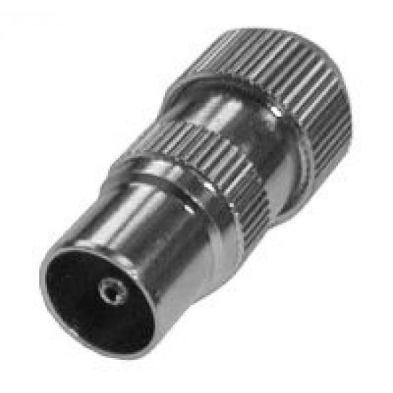 Konektor anténny priamy kábel kov