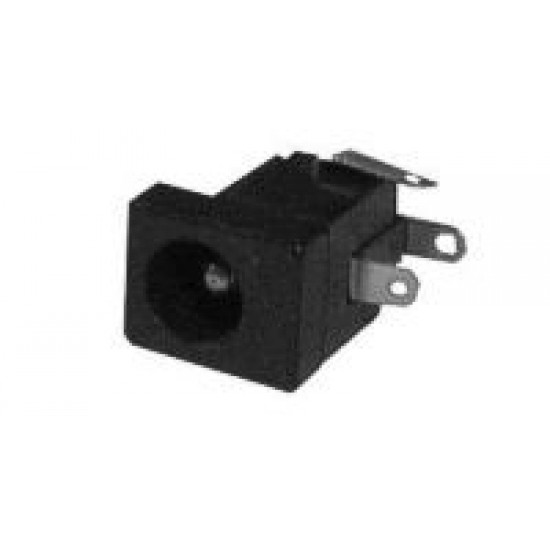 Konektor DC2.1mm panel plast ploš.spoj