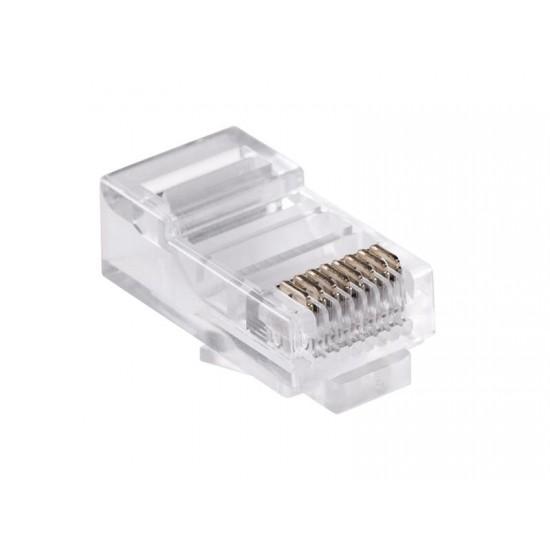 Konektor počítačový kábel 8p-8c RJ45