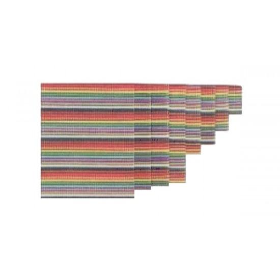 Vodič plochý 10 žilový farebný 30,5m