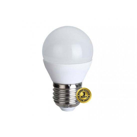 Žiarovka LED E27 6W G45 biela teplá SOLIGHT WZ412-1