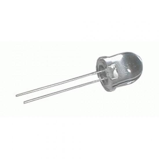 LED 10mm bila 15000mcd 30° cira