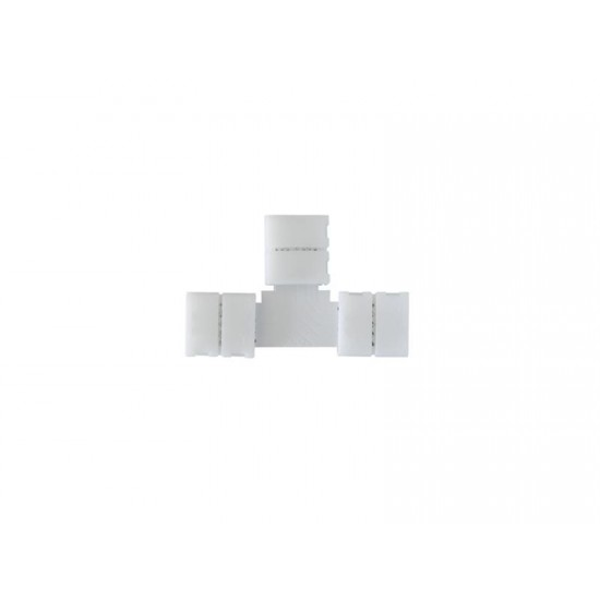 Spojka LED pásiku T, RGB - 10 mm