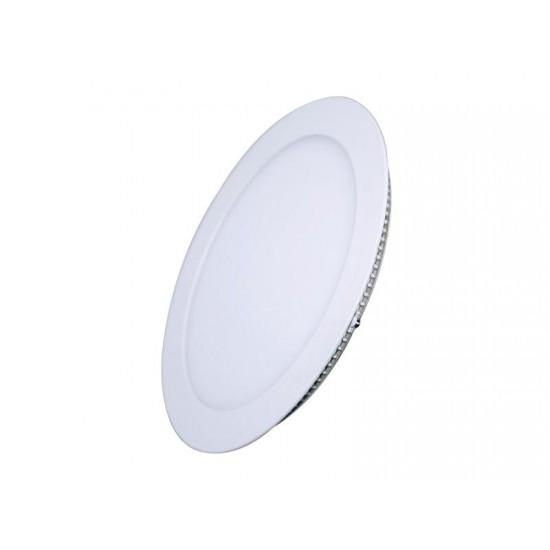 LED mini panel podhľadový 18W, 1530lm, 3000K, tenký, okrúhly, biely WD109 Solight
