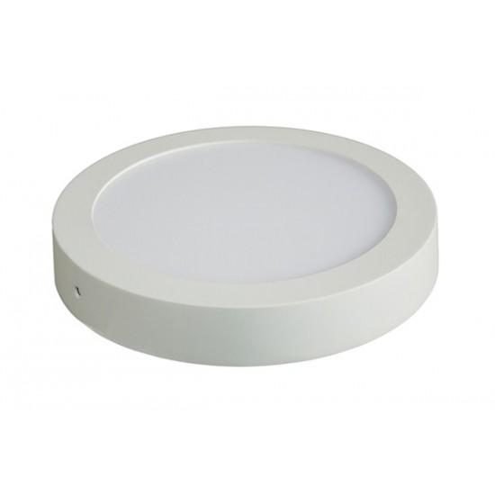 LED panel prisadený, 12W, 900l, 3000K, okrúhly, biely Solight WD113