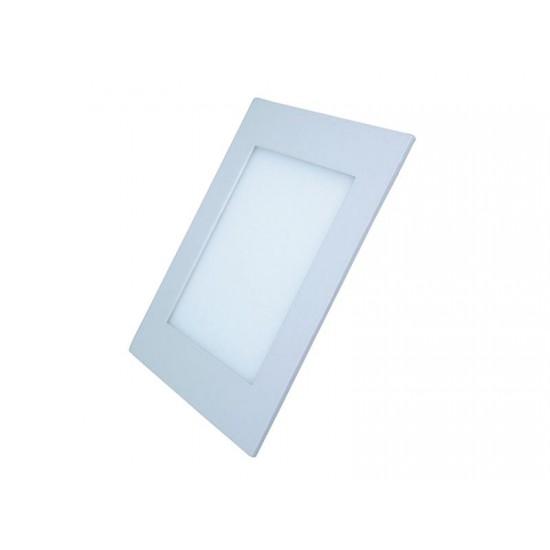 LED mini panel podhľadový 18W, 1530lm, 4000K, tenký, štvorcový, biely WD112 Solight