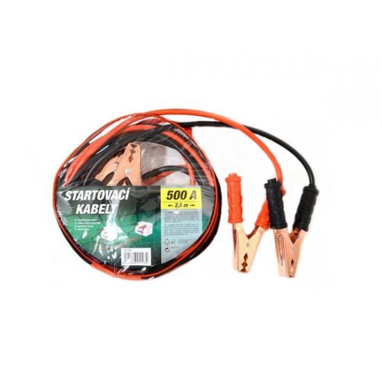 Káble štartovacie 500A 2,5m COMPASS 01123