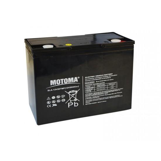 Batéria olovená 12V 20Ah MOTOMA pre elektromotory