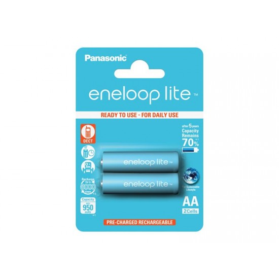 Batérie 3LCCE/2BE ENELOOP LITE AA 2x PANASONIC nabíjacie