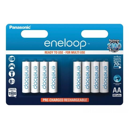 Batérie 3MCCE/8BE ENELOOP AA 8x 2100C PANASONIC nabíjacie