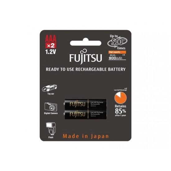 Batéria AAA (R03) nabíjacie 1,2V/900mAh Fujitsu black PRO 2ks