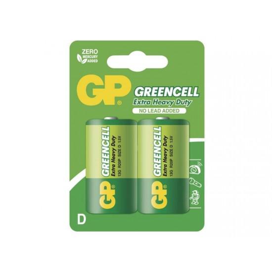 Bateria D (R20) Zn-Cl GP Greencell 2ks