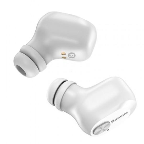 Slúchadlá Bluetooth BASEUS TWS W01 biele