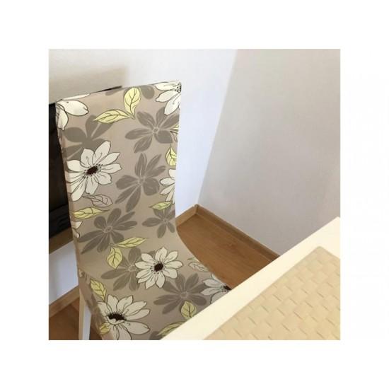 Poťah na stoličku 4L sivý vzor
