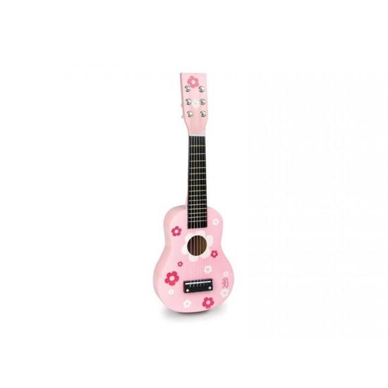 Detská gitara VILAC Pink drevená