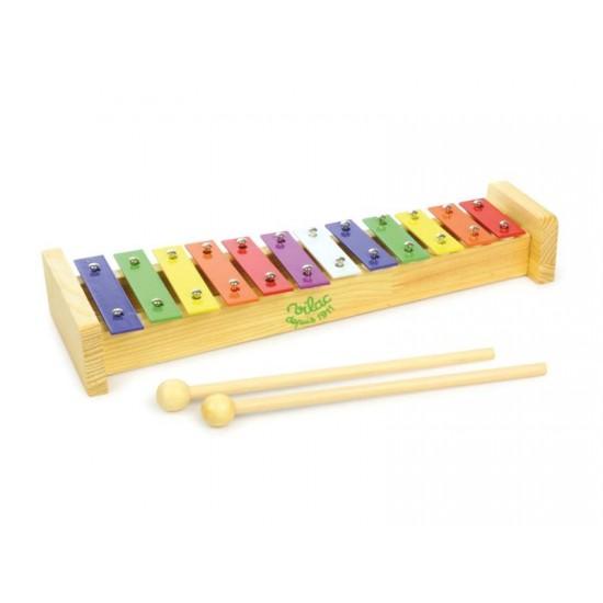 Detský xylofón VILAC drevený