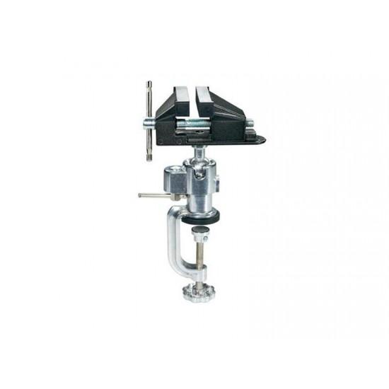 Zverák s guľovým kĺbom Basetech, 73 mm