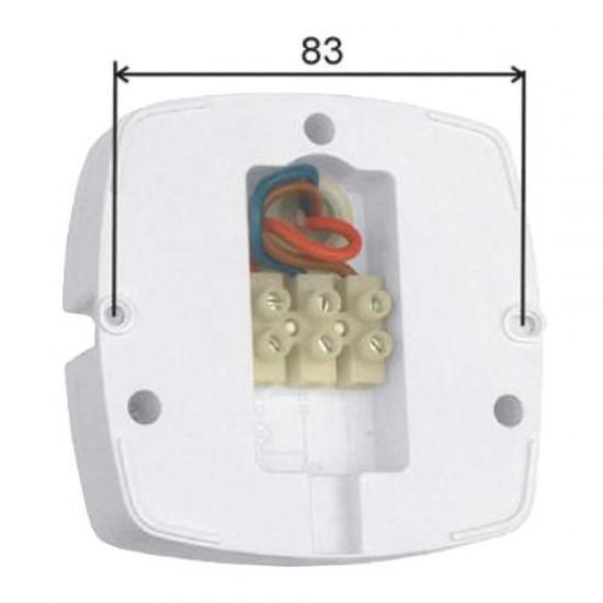Pohybové PIR čidlo infraspínač pohybu stropný 360 stupňov 3310-Tondo