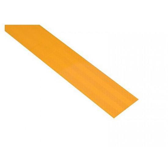 Reflexná páska samolepiaca 1m x 5cm žltá COMPASS 01538