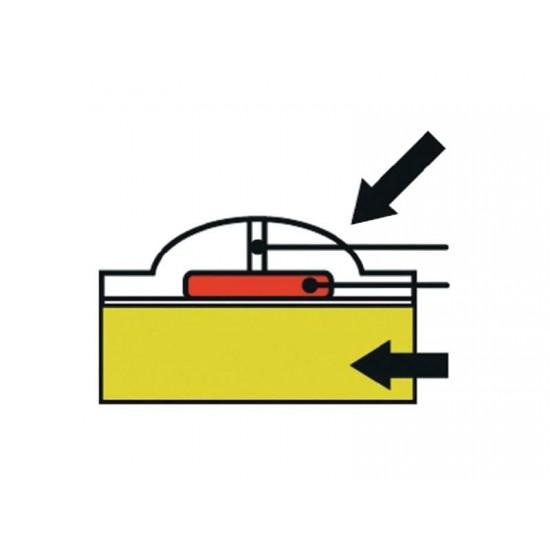 Vodotesný odpudzovač kún do auta Kemo M180