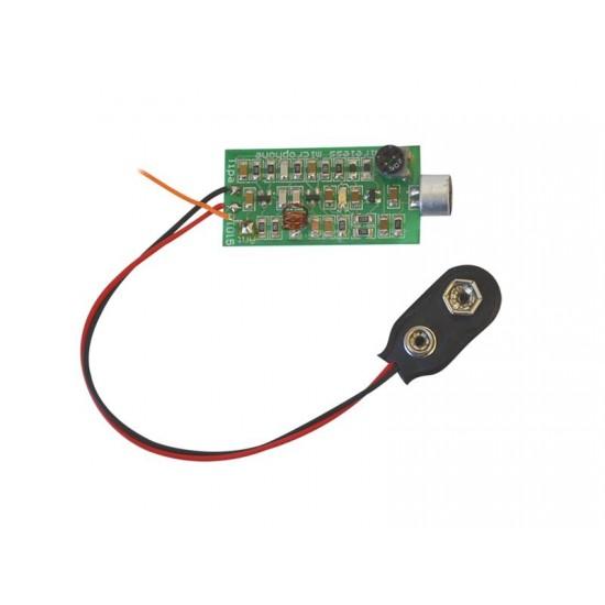 Stavebnica PT015 Bezdrôtový mikrofón miniatúrny SMD