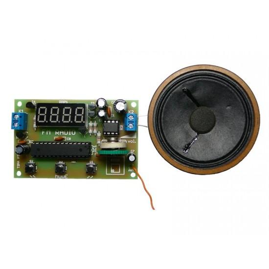 Stavebnica PT062 FM rádio s LED displejom